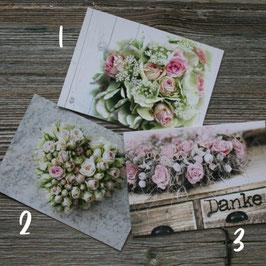 """Postkarte """"Fotoeigenart"""" ROSE"""