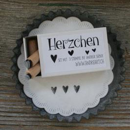 """Stempelset """"Herzchen"""""""