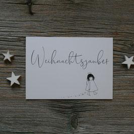 """Ängeli-Postkarte """"Weihnachtszauber"""""""