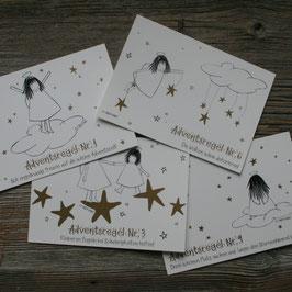 """Ängeli-Postkarten """"Adventsregeln"""""""