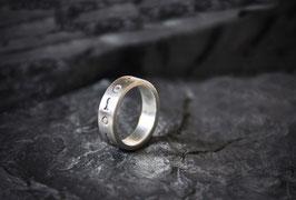 Sonne-Fisch Ring