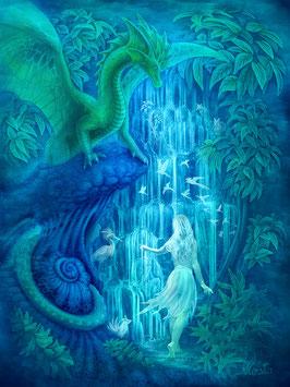 Wasserfall der Kreativität