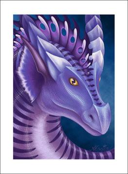 Drachenportrait (Narben)
