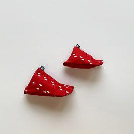 RED -Kineya Reusable Shopping Tote Bag-