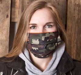"""Mund-Nasenbedeckung """"Camouflage KLASSIK """""""