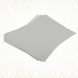 12 x Waferpaper / Esspapier WEISS (DIN A4) - Shantys