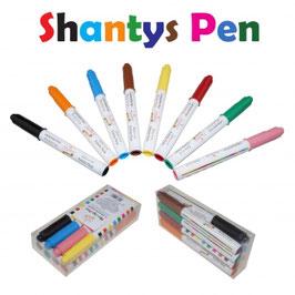 Shantys Pen - Farbstife 8er Set