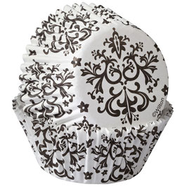 Wilton Baking Cups Damask Pkg/75