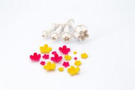 """DF5246 Stempelausstecher """"Blüten"""" von Dekofee"""