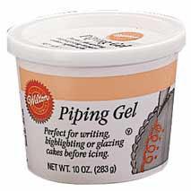 Wilton Piping Gel 280gr. (Klares Glasurgel)
