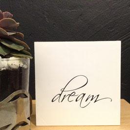 """""""DREAM""""- Fotodruck auf Holz"""