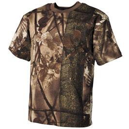 US T-Shirt Hunter Braun