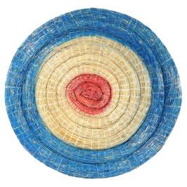 Zielscheibe aus Stroh, 60cm