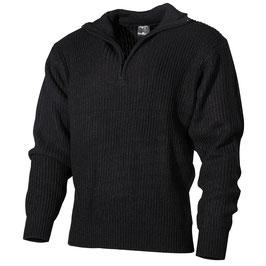 """Pullover """"troyer"""" schwarz Gr. S"""