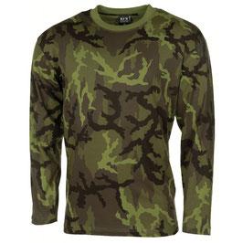 US Shirt Langarm M95 CZ Tarn