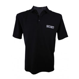 "Polo Shirt ""security"""