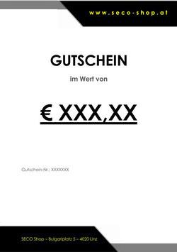 SECO Shop Gutschein