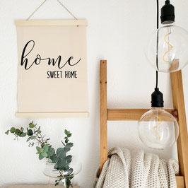 Home sweet home - Stoffbild