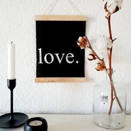 love. - Stoffbild