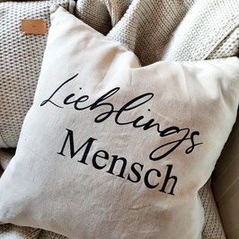"""Kissen """"Lieblingsmensch"""""""