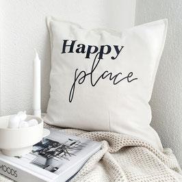 """Kissen """"Happy place"""""""