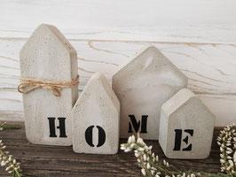 """Mini-Beton-Häuschen """"Home"""""""