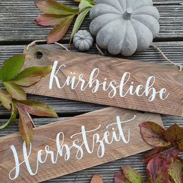 "Altholzschilder ""Herbst"""