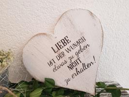 Liebe ist der Wunsch...