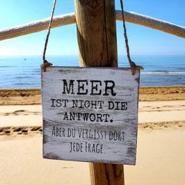 Meer ist nicht die Antwort