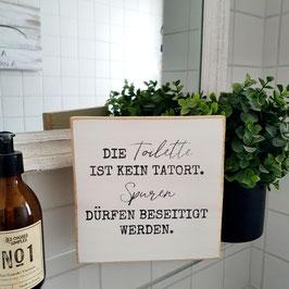"""Quadrat """"Tatort Toilette"""""""