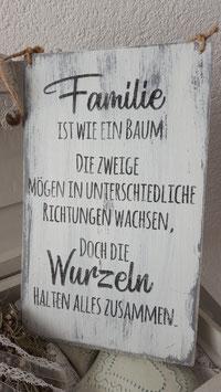 Familie ist wie ein Baum