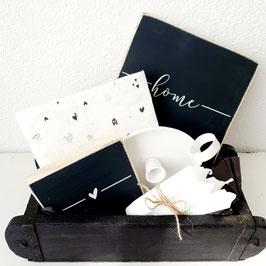 Geschenkset black & white