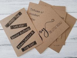 Karten handmade
