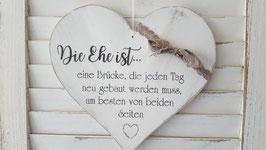 Die Ehe ist...
