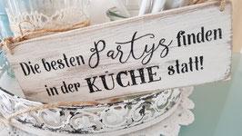 Die besten Partys finden in der Küche statt