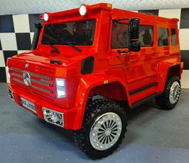 Mercedes kinderauto Unimog 12 volt een persoons
