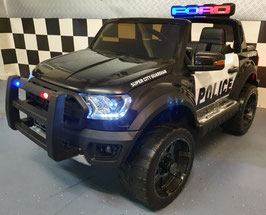 KINDERAUTO FORD RANGER POLITIE 12 VOLT - 1,5 PERSOONS KINDER AUTO