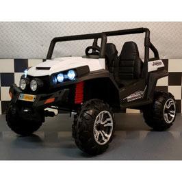 Kinderjeep type Polaris 4WD rubberen banden  en bluetooth