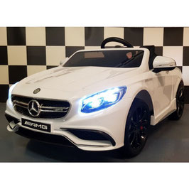 MERCEDES S63 AMG KINDER AUTO - BLACK EDITION - BLUETOOTH