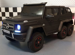 MERCEDES G63 AMG 6x6 ACCU KINDERAUTO - 2 PERSOONS