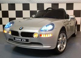 BMW Z8 ELEKTRISCHE KINDERAUTO 12 VOLT SOFTSTART RUBBEREN BANDEN VERING