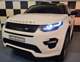 Landrover Discovery accu kinderauto met MP4 scherm