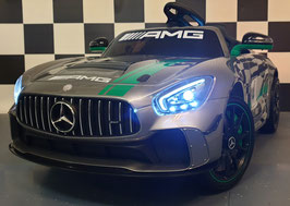 MERCEDES ACCU KINDERAUTO GT AMG  - MP4 SCHERM