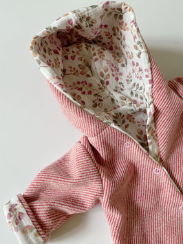 Overall ONEsie ||  rosa Twill Musselin