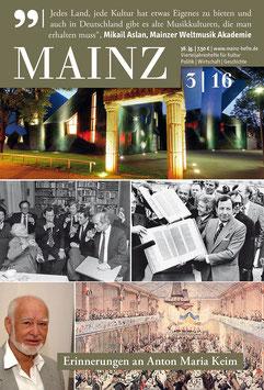 Mainz Vierteljahreshefte 2016/3