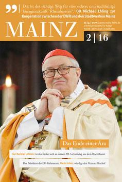 Mainz Vierteljahreshefte 2016/2
