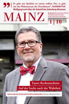 Mainz Vierteljahreshefte 2016/1