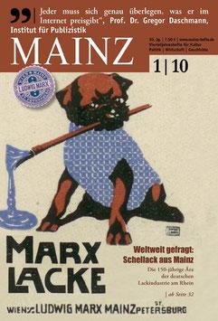 Mainz Vierteljahreshefte 2010/1