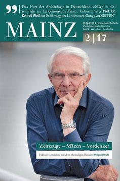 Mainz Vierteljahreshefte 2017/2