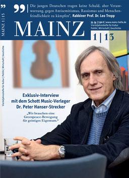 Mainz Vierteljahreshefte 2013/1